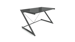 Biurko DD Z-Line Computer Desk Black/Black - Unique