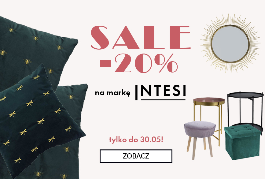 - 20% na markę Intensi od 16.05 do 30.05.2019