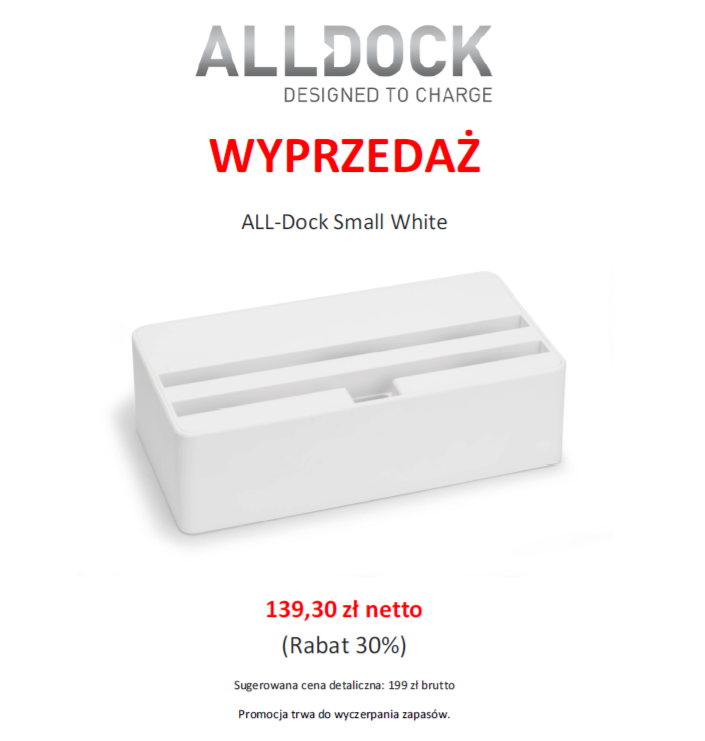 Promocja All-Dock - Unique